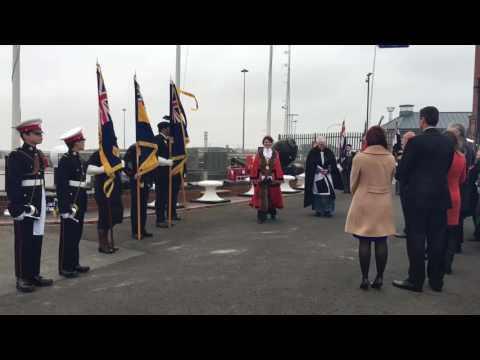 Video: Battle of Jutland centenary services in Grimsby