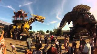 LongMa et l'éléphant - Machines de l'île, Nantes [GoPro Hero3]