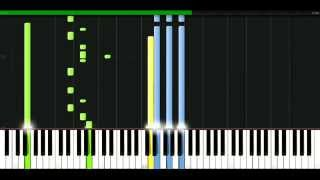 Queen - You dont fool me [Piano Tutorial] Synthesia | passkeypiano