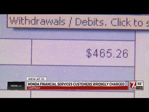 Honda Financial Services Glitch