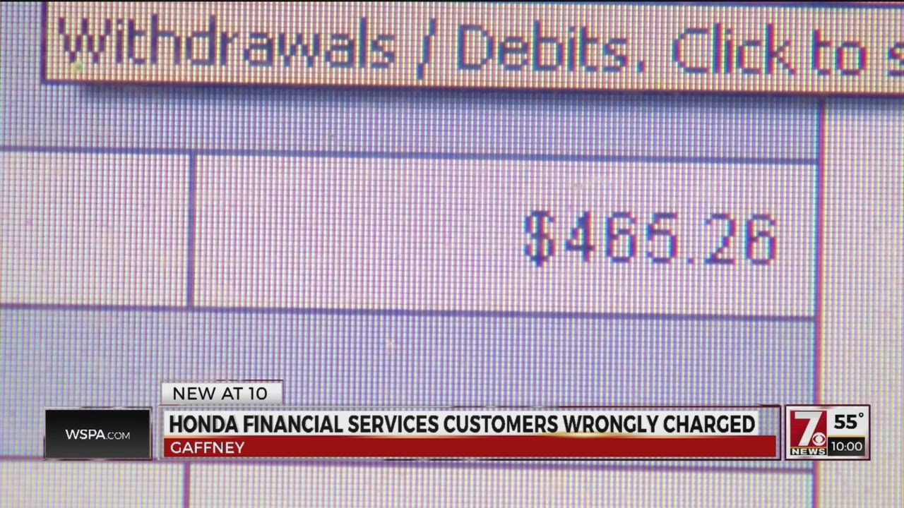 Honda Financial Services Glitch