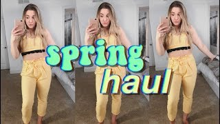 HUGE SPRING TRY-ON HAUL 2018 (clothes & beauty)