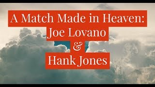Joe Lovano and Hank Jones – The Duo Made in Heaven