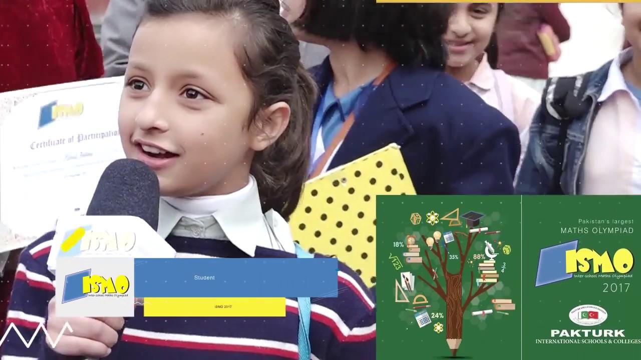 ISMO (Inter-School Math Olympiad) | Largest Math Olympiad in