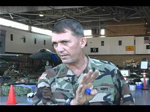 California Deploys National Guard For Hurricane Katrina