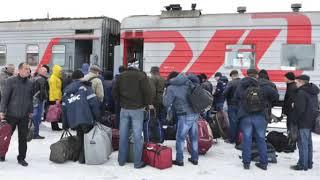 Смотреть видео Как кидают работников на вахте в Москве онлайн