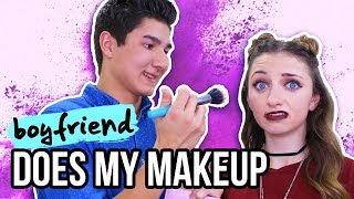 Boyfriend Does My Makeup | Music Countdown Video Day #2