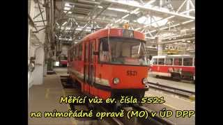Tramvaje Tatra T3 (Praha) - osobní, muzejní a služební vozy