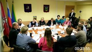 #11-е Заседание Совета Кунцево 05.12.2017 ОБЩИЙ ПЛАН