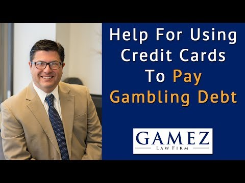 Help With Credit Card Debt From Gambling Debt