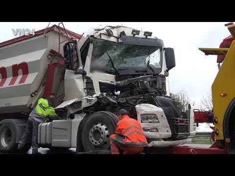 07.11.2019 - VN24 - Drei Verletzte Nach LKW Unfall Auf A1 Bei Gevelsberg