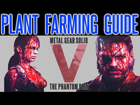 MGSV Phantom Pain - Plant Farming TIPS | Medicinal Plant Recovery Guide | How To Recover