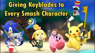 Giving a Keyblade to Every Smash Character