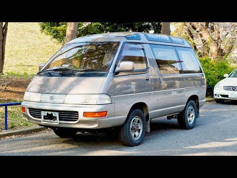 1992 Toyota Town Ace 4WD Diesel (USA Import) Japan Auction Purchase Review