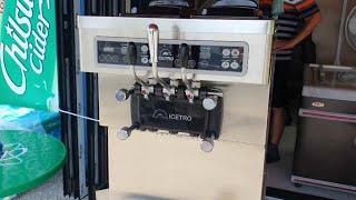 소프트아이스크림기계 ICETRO ISI-203SN 설치…