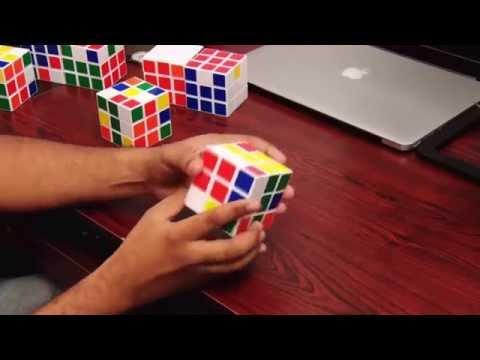 How To Solve Plus Symbol In 3x3 Rubik's Cube(Telugu)