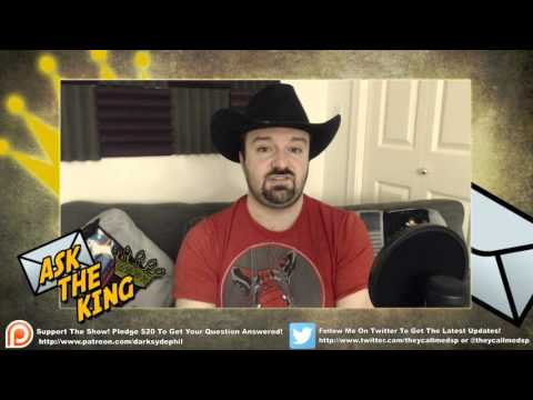 Ask the King Ep. 58: March 2016 pt2 - Thick Skin, Missing the Parents, CGI, Japanese Horror