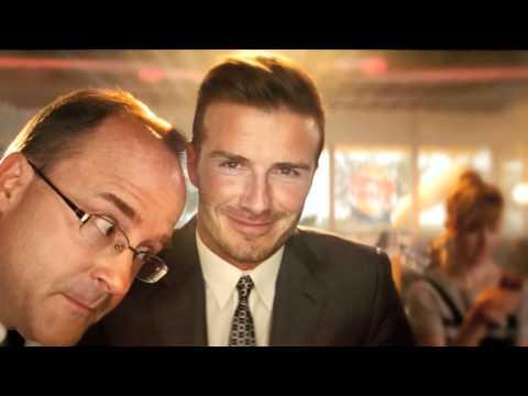 David Beckham BURGER KING ad