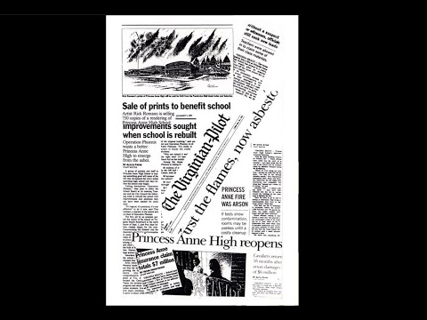 Princess Anne High School ~ Move to Celebration Station ~ 1995
