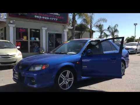Diamond MotorCars Inc.- 2001 Mazda Protege MP3 for sale in Long Beach