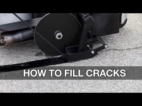 Learn How To Fill Cracks In Asphalt Parking Lots & Driveways The Right Way?