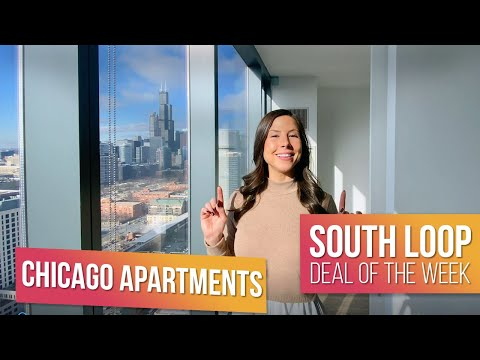 BRAND NEW South Loop APARTMENTS on Michigan Ave! Chicago's TOP Apartment Deals of The Week.