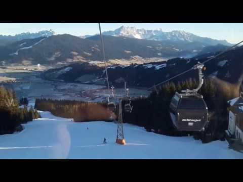 Ski resort Flachau Austria (Achter Jet)
