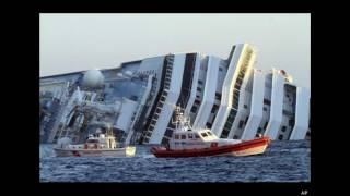 Costa Concordia Captain Says He Tripped Into Lifeboat
