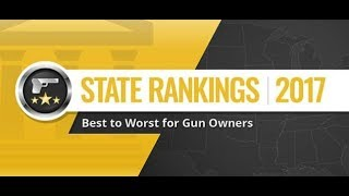 Top 10 States To Live In, If You're a Gun Owner!