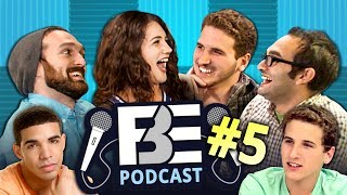 FBE PODCAST #5 | React Rivalries, Tattoos, & Degrassi Love thumbnail