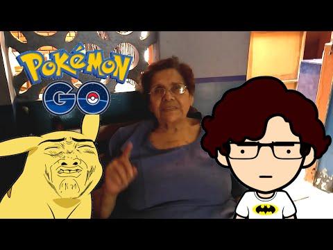 Abuelita no le gusta Pokemon Go