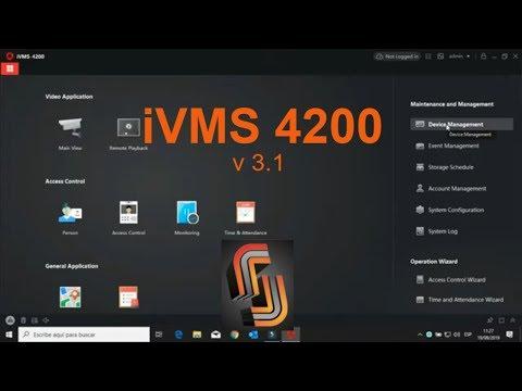 Como Descargar E Instalar IVMS 4200 3.1 Hikvision