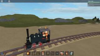 The smallest railway in roblox! & more train crashes