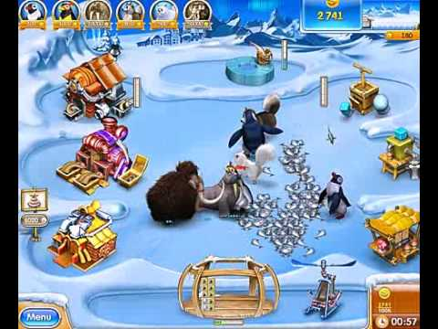 Farm Frenzy 3 Ice Age Game Trailer | Yummy Games