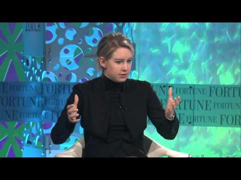 Elizabeth Holmes Mission | Full Interview Fortune MPW