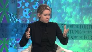Elizabeth Holmes Mission | Full Interview Fortune MPW