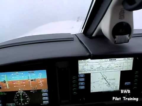 Low Weather ILS Approach & Landing in an Avidyne Equipped Piper Malibu Mirage