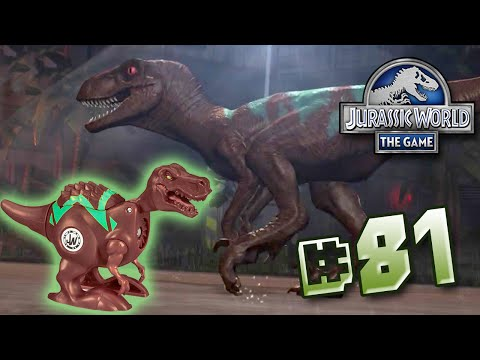 RAPTOR BRAWLASAURS! || Jurassic World - The Game - Ep 81 HD