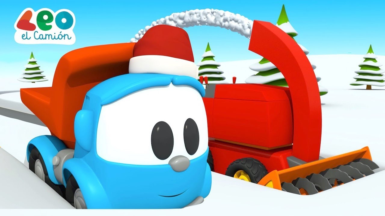 Leo el Camión - ¡Feliz invierno! - Invierno para niños con Leo el Pequeño Camión
