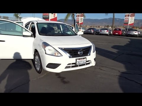 2016 Nissan Versa San Bernardino, Fontana, Riverside, Palm Springs, Inland Empire, CA P8930RC