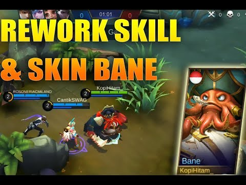 NEW SKIN | BANE LORD OF THE SEVEN SEAS  & REWORK SKILL | - MOBILE LEGENDS