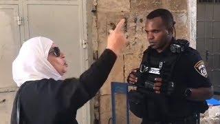 Kudüslü cesur kadınlar İsrail e meydan okudu