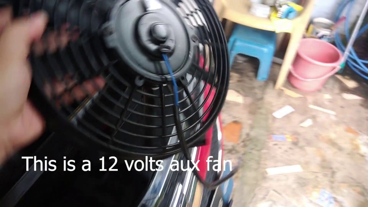 Diy Install Additional Auxiliary Fan For Aircon Condenser
