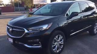 2018 Buick Enclave Avenir Surround View Camera Handsfree Liftgate Black Oshawa ON Stock #180308