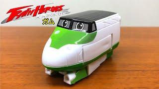 シ、シンカリオン?いや違う!これはトレインヒーローだ!カバヤ サム 電車 新幹線 おもちゃ 玩具菓子 train heroes.