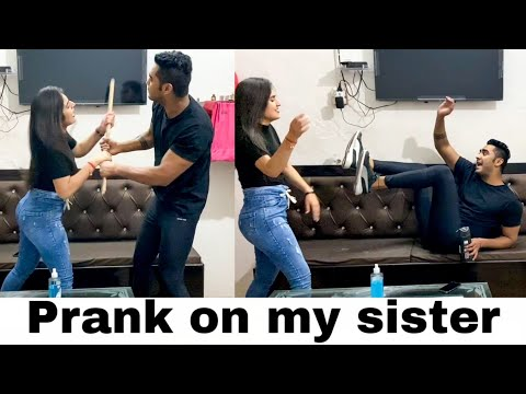 Prank on my sister gone wrong || Paras Thakral