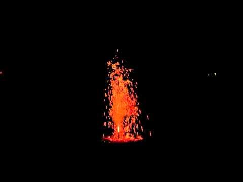 Hafenrain 1. August Vulkan 2012