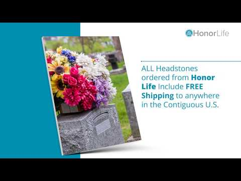 Custom Headstones to Preserve the Memories of Loved Ones