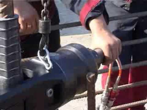 Механические соединения арматуры методом опрессовки
