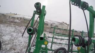 Видео-обзор! Сцепка борон гидравлическая пружинная. Комментарии. Завод ''Агро-Ресурс'' Липецк